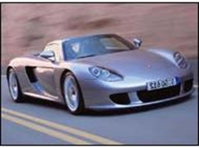 Porsche Carrera GT'den veda